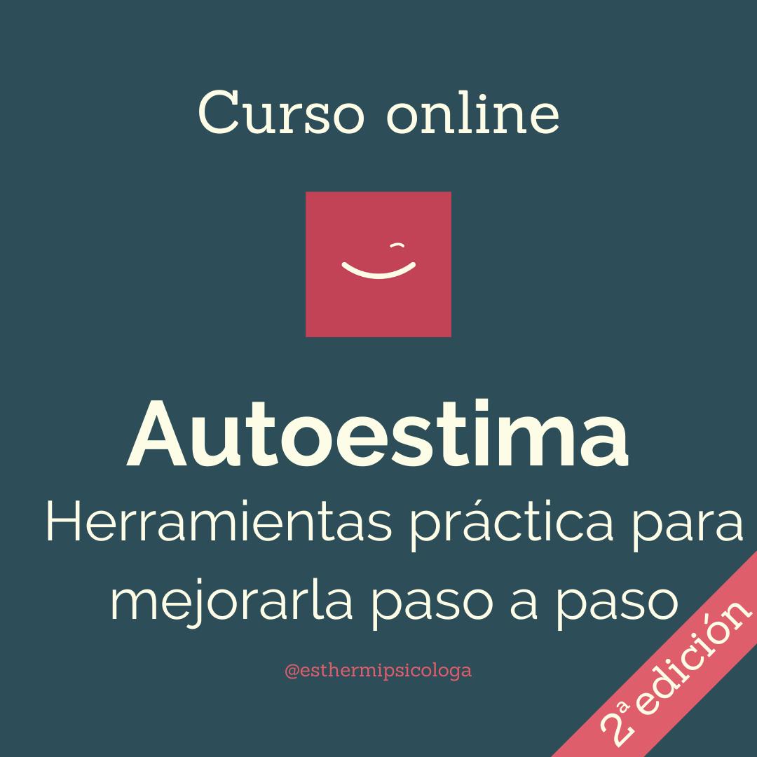 Curso online de Autoestima